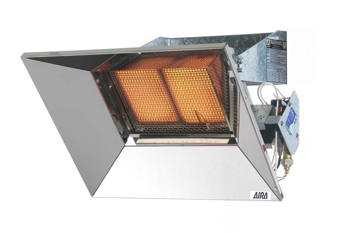 WMA16 wall mounted heater