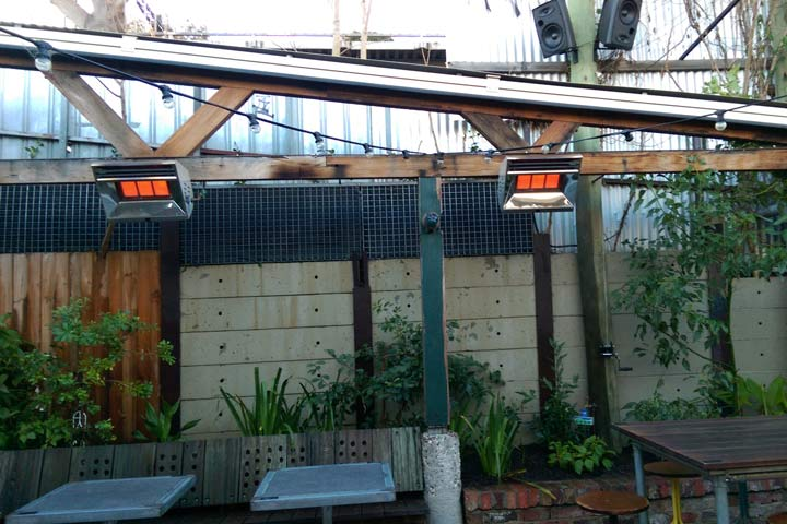 Weatherproof Heaters Beer Garden 14