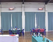 Commercial radiant heaters community hall Pic 2