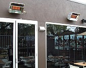 Weatherproof Heaters Alfresco Restaurant BILD0536